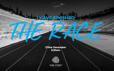 I Have Finished the Race | Tim Walter
