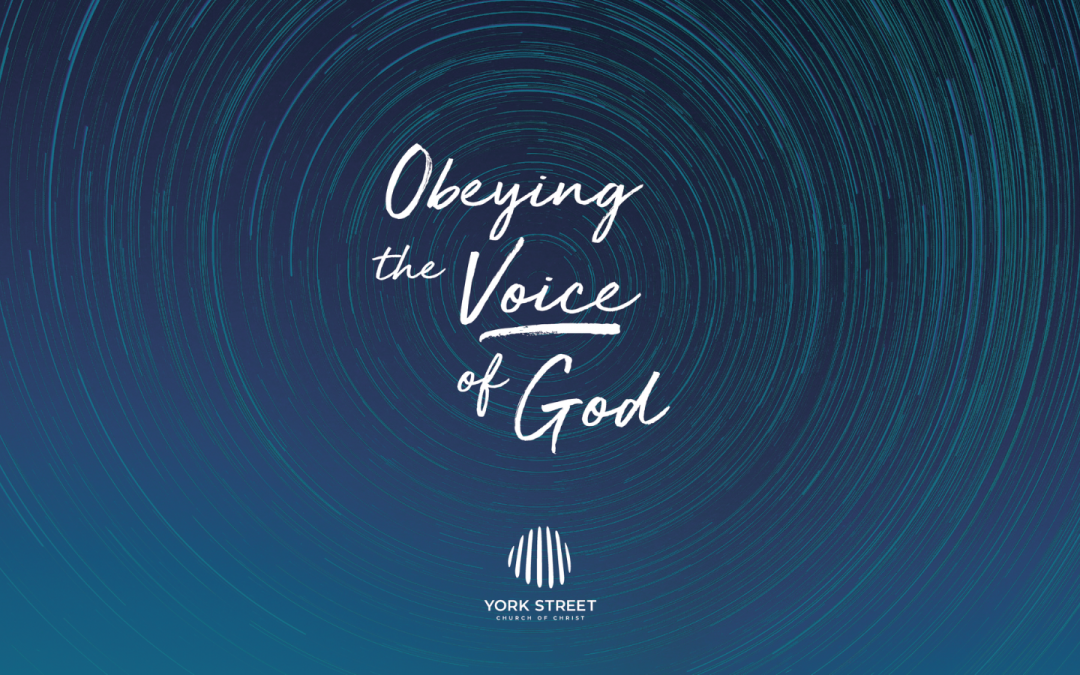 Obeying the Voice of God   Tim Walter