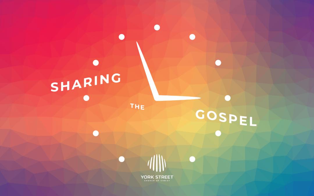 Sharing the Gospel   Yorkie Interns